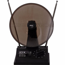 Antena Uhf/vhf/fm Interna Uvfi-101 Preta Hyx Tv Digital