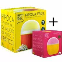 Pipoca Fácil + Ovo Fácil - Microondas - Zap Chef - Dtc
