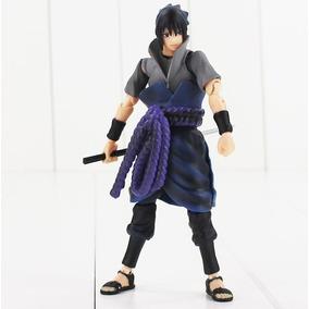 Boneco Sasuke Uchiha Série Naruto Figura Articulada