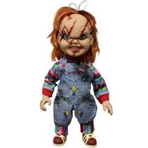 Chucky Brinquedo Assassino Fala 38cm De Altura Mezco Lacrado