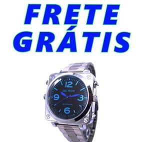 ede88246ed8 Potes Compridos Grande Masculino Pulso - Relógio Masculino no ...