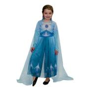 Disfraz Elsa Frozen 2 Celeste Original New Toys Educando