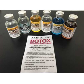 Ampollas De Botox Ambarina. Al Mayor Y Detal