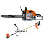 Combo Guadaña Stihl 450- 52 Cc Y Motosierra 381 Envio Gratis