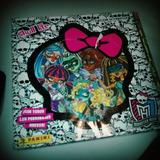 Album Figuritas Monster High 2013 Skull Life Incompleto Rfan