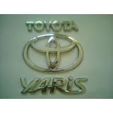 Juego De Emblemas Para Maleta De Toyota Yaris