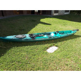 Kayak Angler 4.30 Atlantikayak 2 Hs De Uso En Agua Dulce.