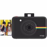 Cámara Instantánea Polaroid Snap Digital Negra Envio