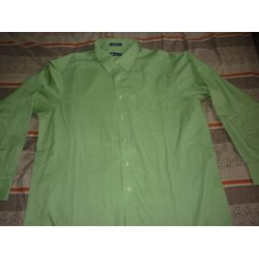 L Camisa Chaps By Ralph Lauren De Vestir Verde Art 6017