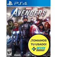 Marvel Avengers Ps4 Juego Fisico Sellado Nuevo Sevengamer