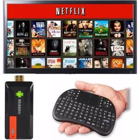 Tv Box Android Convertidor Smart Tv 2gb Ram Combo Teclado
