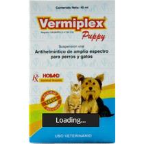 Vermiplex Puppy 40 Ml Desparacitante Para Cachorros Y Gatos