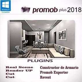 Promob Plus 2018 El Mas Completo De Todos Envio Gratis