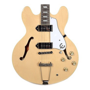 Guitarra Semi-acústica EpiPhone Casino Natural + Correia Eb