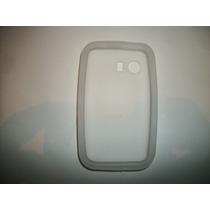 Protector Silicon Case Galaxy Young S5360 Color Blanco!
