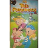 Vhs Os Tres Porquinhos Dublado 1994 Cosmos Videos