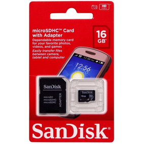 Memória Micro Sd Sandisk 16gb Original Valor Frete Noanuncio