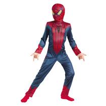 Disfraz Spiderman Sin Musculo T. 7-8