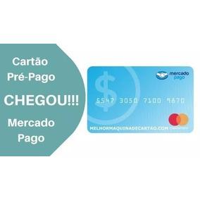 Cartão De Crédito Pré Pago Mercado Livre Mastercard S/ Spc