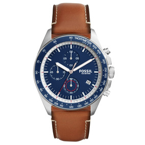 Reloj Fossil Grant Chronograph Leather Watch Ch3039