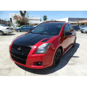 Nissan Sentra Se-r Std 2012 Rojo/negro U17/060