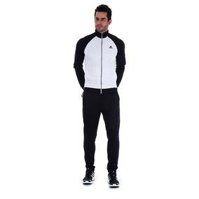 Agasalho Masculino adidas Marker - Pto/bco