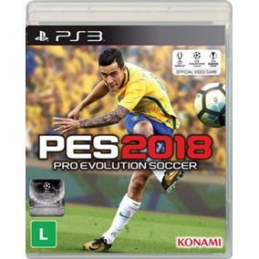 Pes 18 Pro Evolution Soccer 2018 Ps3 Mídia Física Oferta