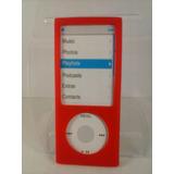 Capa Silicone Vermelho Nano 5 5º Geração Apple Ipod