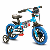 Bicicletinha Infantil Menino Aro 12 Veloz Nathor Crianças