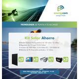 Kit Solar Ahorro