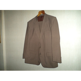 Traje P/hombre Yves Saint Laurent Color Oliva Talle 52 $2200