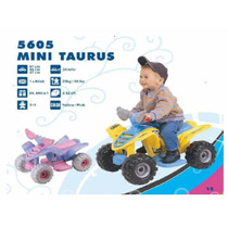 Mini Cuatrimoto Infantil Electrica Solo En Rosa Con Azul