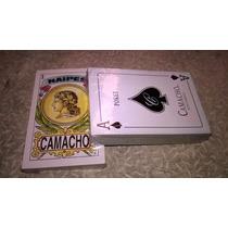 Barajas Para Cartas, Poker Baraja Americana Y Baraja Mexican