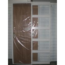 Puerta Corrediza De Embutir Para Durlock 70x10 Cedro