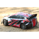 Rc Rally Car Wltoyz 1/18 Brushed Rtr