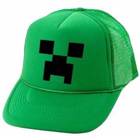 Gorra Trucker Minecraft Con Vinilo. Decofriends2