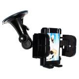 Suporte Universal Veicular 3x1 Para Smartphone Celulares Gps