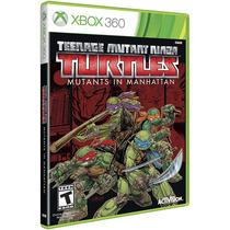 Videojuego Tortugas Ninja En Manhattan Xbox 360 Activision