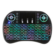Mini Teclado Inalámbrico Touchpad  Smartv Pc Tvbox 3x1 Color