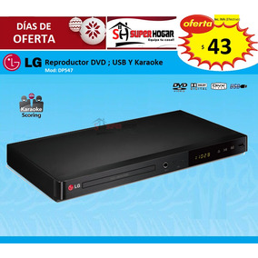 Dvd Lg Dp547 Karaoke Reproductor Cd Usb Mp3 Fotos Videos