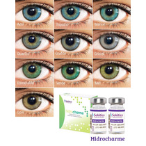 Lentes De Contato Coloridas Solótica Hidrocharme