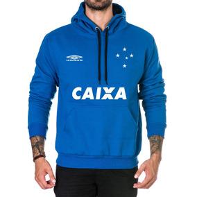Cruzeiro Goulart - Moletom Masculinas Azul no Mercado Livre Brasil c6cdbdc4a3490
