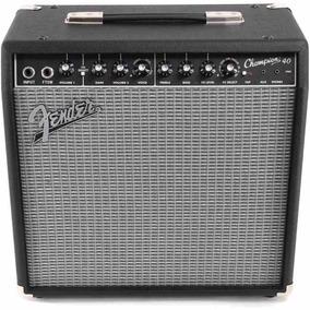 Amplificador De Guitarra Fender Champion 40 Watts C/ Efectos