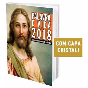 Livro Palavra E Vida 2018 Evangelho Comentado Cada Dia