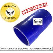 Mangueira Mangote Silicone 2 Pol X 100mm Pressurização Azul