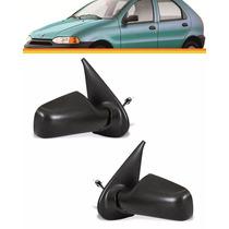 2 Retrovisor Palio 4 Portas Siena 97 98 99 2000 Manual (par)