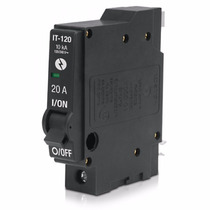 Interruptor Termomagnetico 1 Polos 20a 240v Voltech 46701