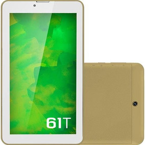 Tablet Mirage 61t 3g Quadcore Tela 7 Dual Camera 2mp + 1.3m