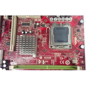 Placa Mãe Positivo N1996 775 Intel...ligando Em Over +proces