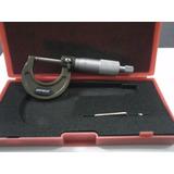 Micrômetro Externo King Tools 0 Á 25 Leitura 0,01mm